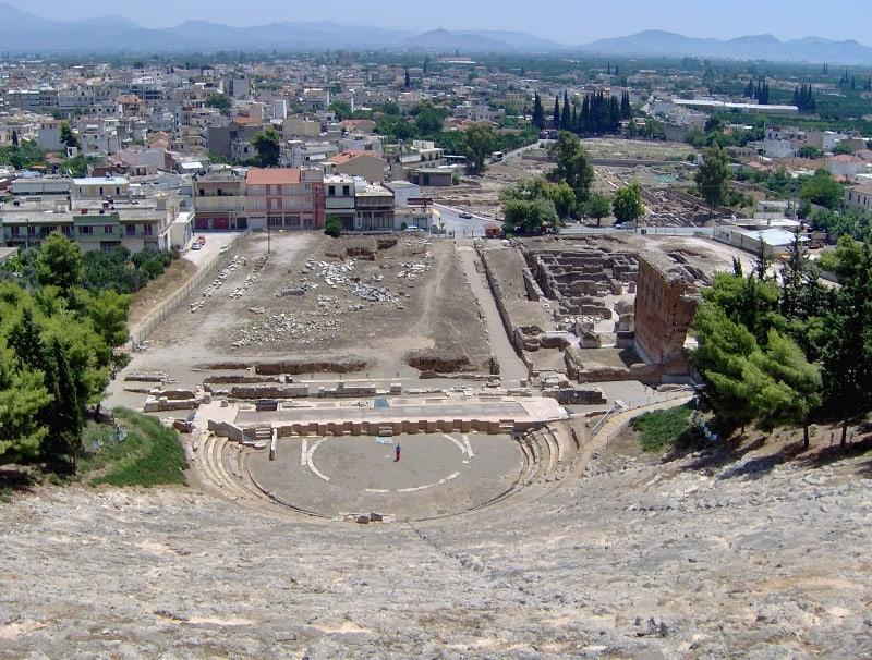 Argos ciudad antigua