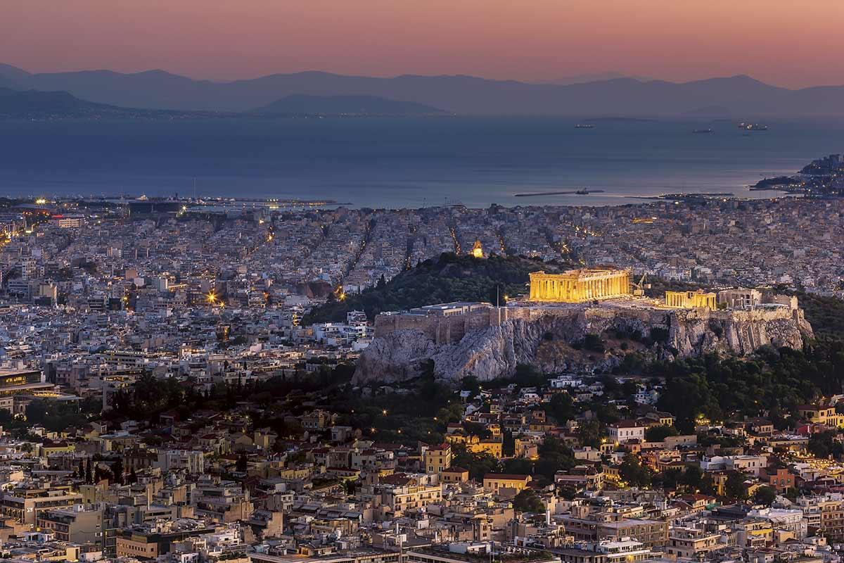 ciudades antiguas Atenas