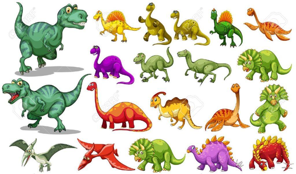 Mitos sobre los dinosaurios colores de los dinosaurios