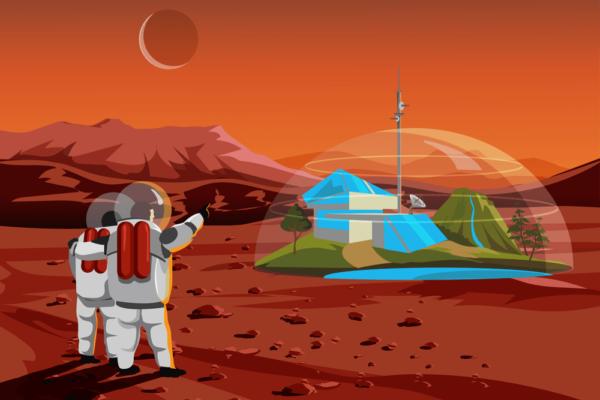 Podría la vida evolucionar en Marte