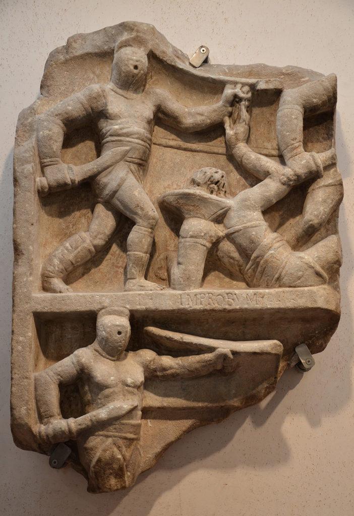gladiadores etrusco