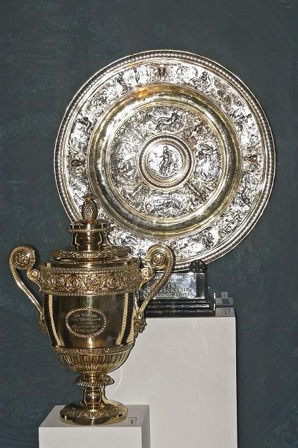 Trofeos deportivos más antiguos del mundo: trofeos de wimbledon