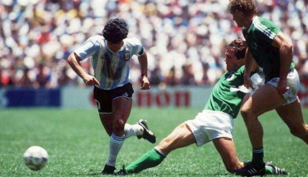 argentina alemania (mexico 86)