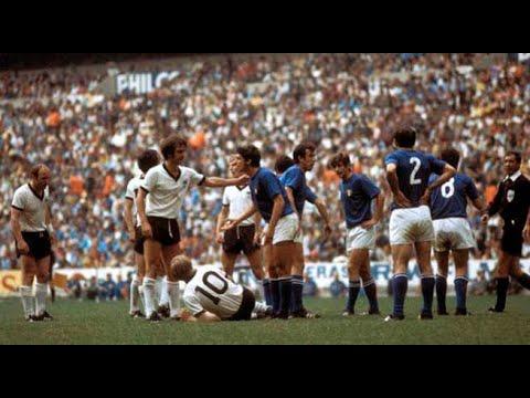 mejores partidos de los mundiales: Italia alemania (mexico 70)