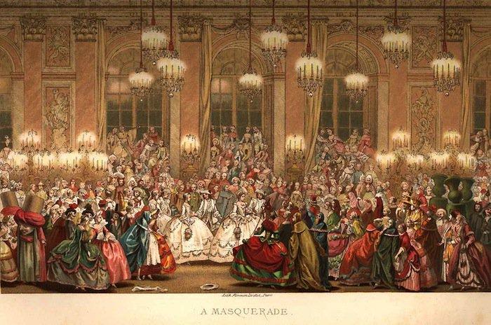 bailes de máscaras venecia