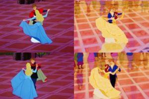 bella y la bestia baile