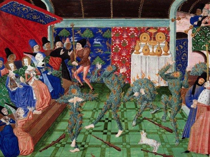 Bal des Ardents siglo xiv