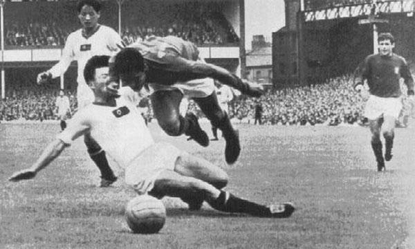 mejores partidos de los mundiales. Portugal corea del norte (Inglaterra 1966)
