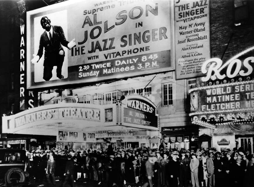 the jazz singer la primera película sonora de la historia