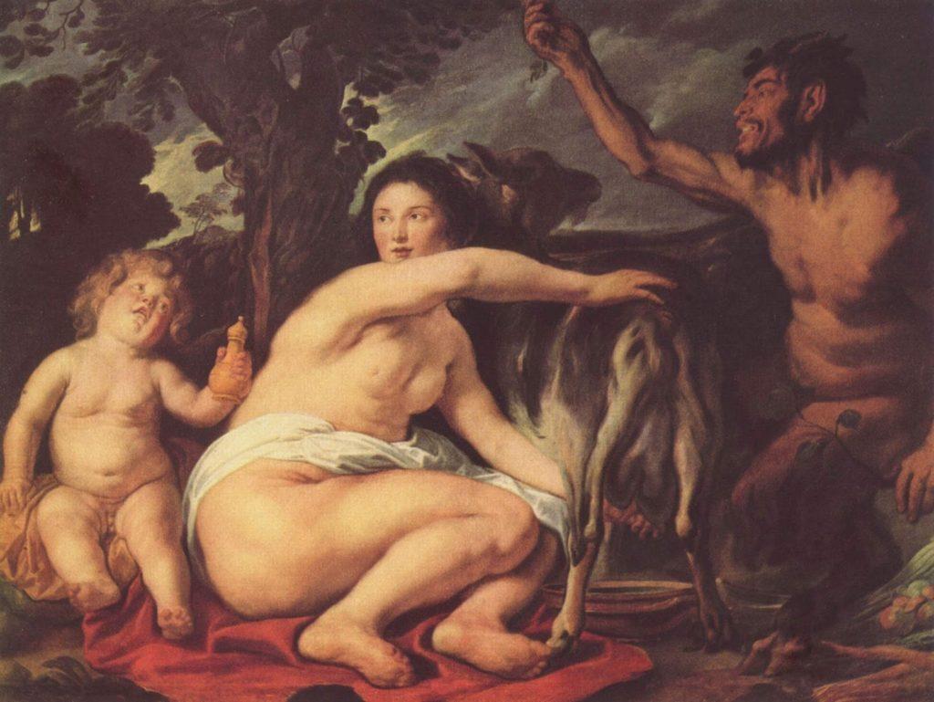 Origen del mundo según la mitología griega