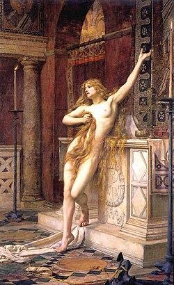 Hipatia de Charles William Mitchel