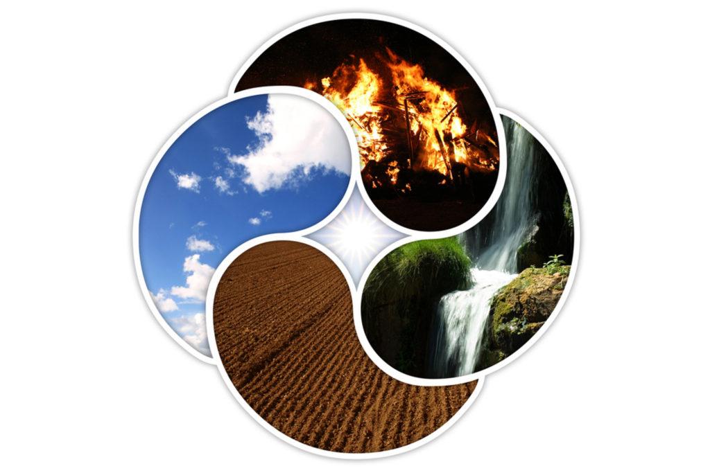 cuatro elementos aristotelicos