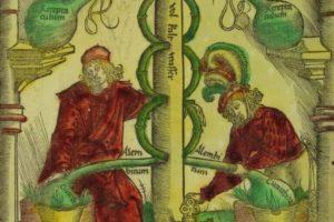 representacion alquimista