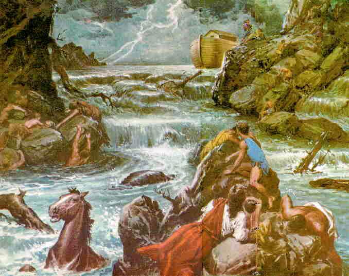 diluvio de la mitología griega