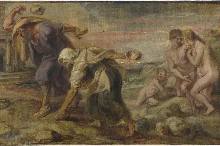 mito de deucalión y Pirra