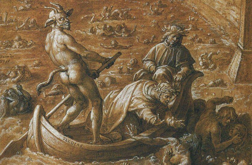 nueves círculos del infierno: octavo circulo