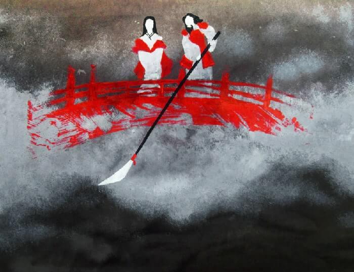 Mito japonés de la creación: El Tenchikaibyaku