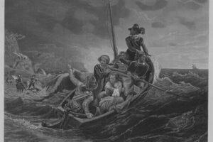 puritanos llegando a america en el mayflower