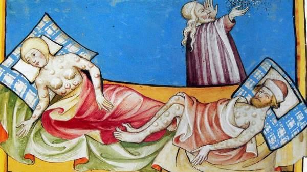 victimas de la peste del siglo vi
