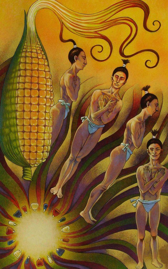 hombres de maiz popol vuh