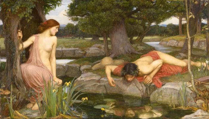 El mito de Narciso según la versión romana de Ovidio