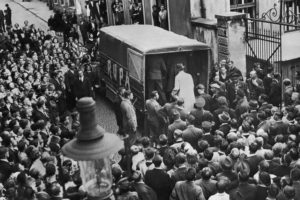 Gestapo en un arresto en checoslovaquia