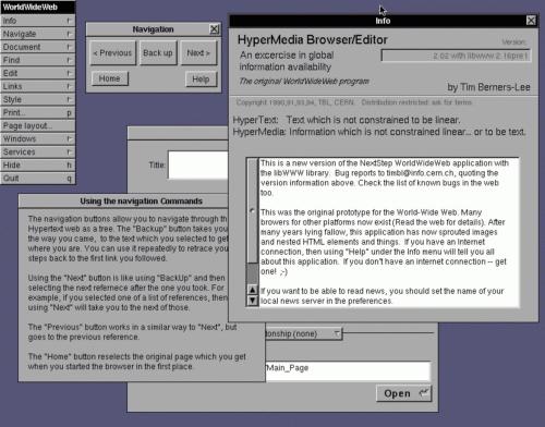 ¿Cuál fue el primer navegador web de la historia?