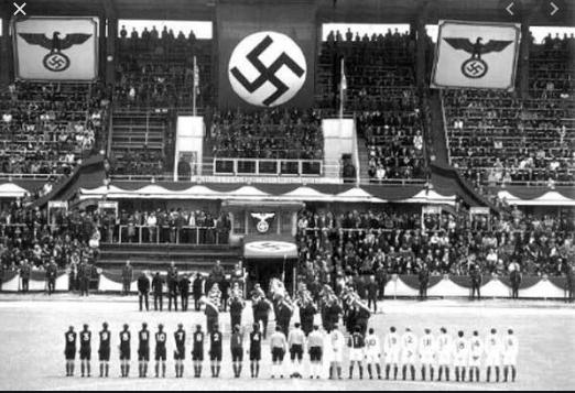 partido entre alemania y austria en 1938