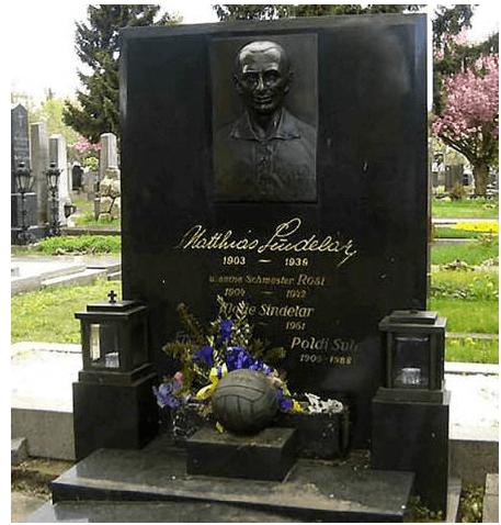 Tumba donde descansa Matthias Sindelar