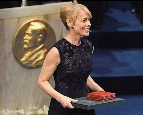 Mujeres ganadoras del Premio Nobel de Literatura Alice Munro