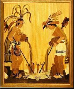 mito de la creación maya Tepeu y Hurakán