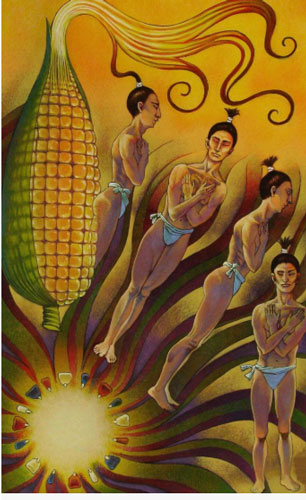 mito de la creación maya