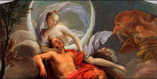 mito de Selene y Endimion
