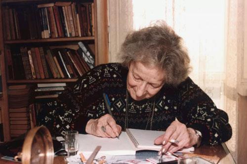 Mujeres ganadoras del Premio Nobel de Literatura Wislawa Szymborska