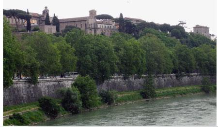 siete colinas de Roma: aventino