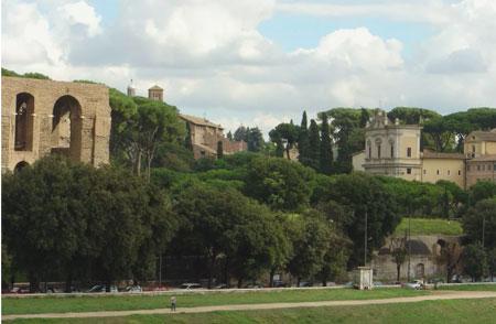siete colinas de Roma: celia