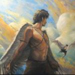 El increíble mito de Dédalo y su hijo Ícaro
