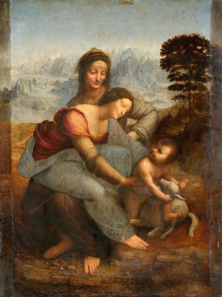 La Virgen y el Niño con Santa Ana (c. 1503–19)