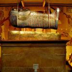 Maravillosas fotos recoloradas de la tumba de Tutankamón