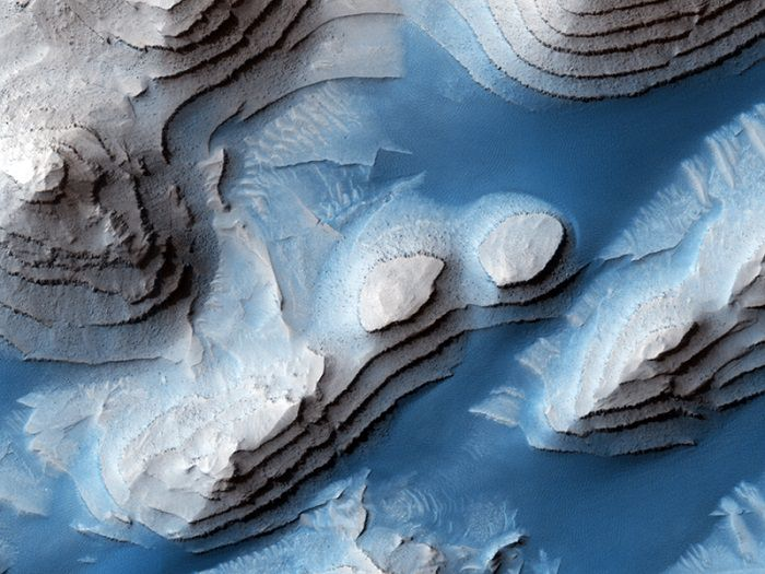Cráteres en capas