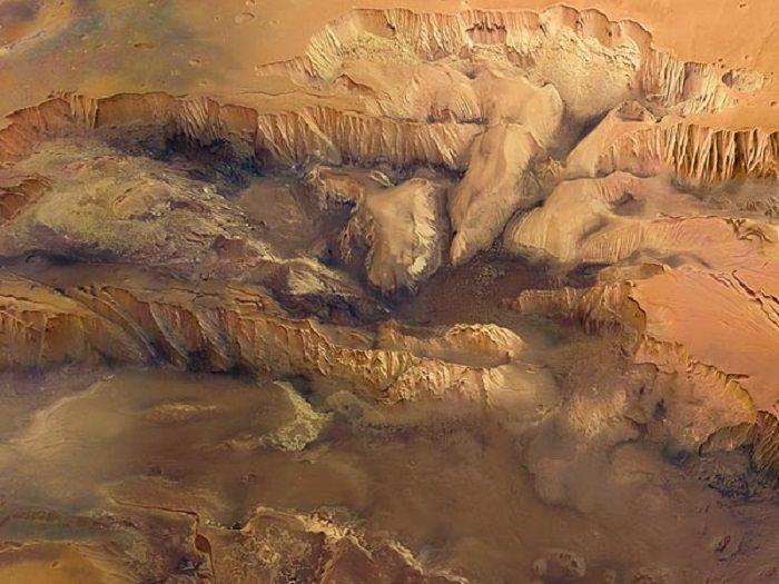 Mariner Valley (el Gran Cañón de Marte)