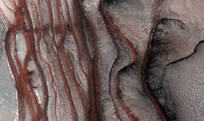 Increíbles dunas en capas