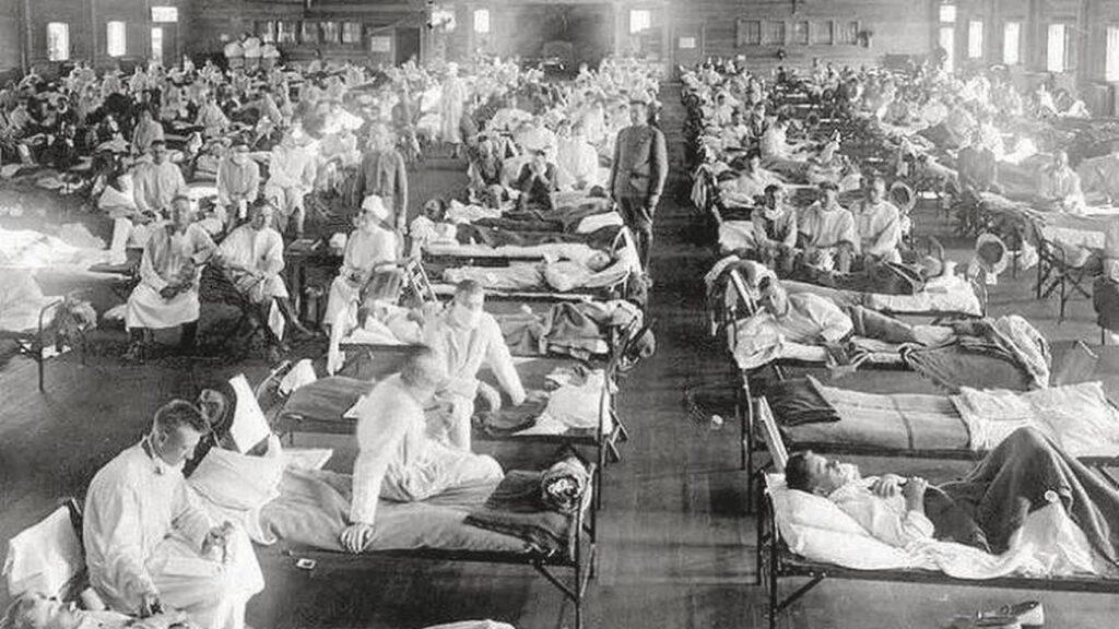 La pandemia que vino antes: fotos de la vida durante la gripe española