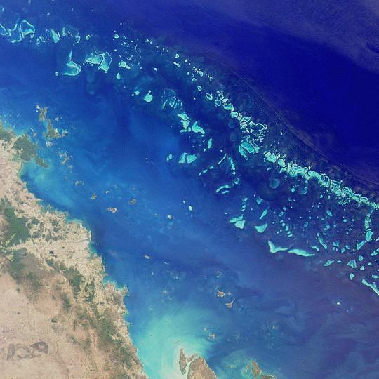La estructura natural más grande del mundo: la Gran Barrera de Coral