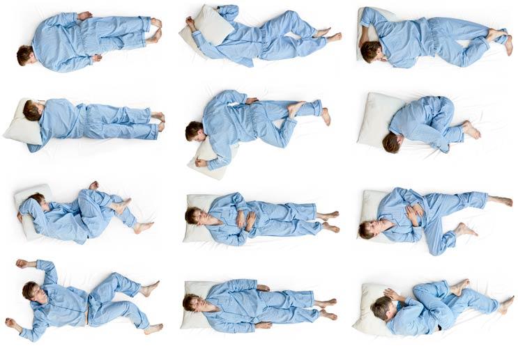 ¿Qué significa su posición para dormir?