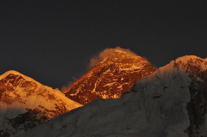 El punto más alto de la Tierra: el monte. Everest