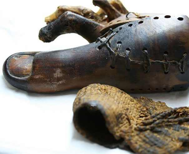 La prótesis más antigua: hace 3.000 años