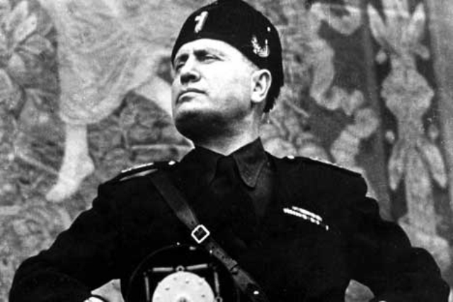 Mussolini contra la mafia