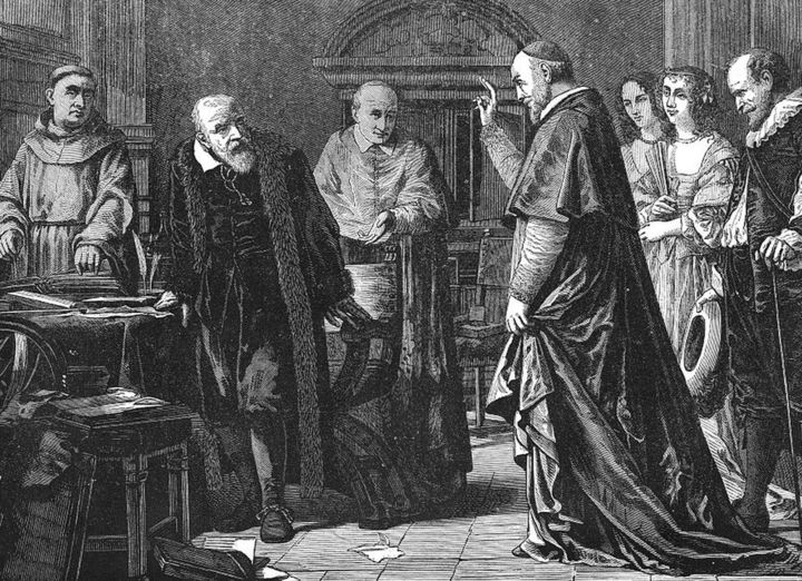 Galileo contra la iglesia