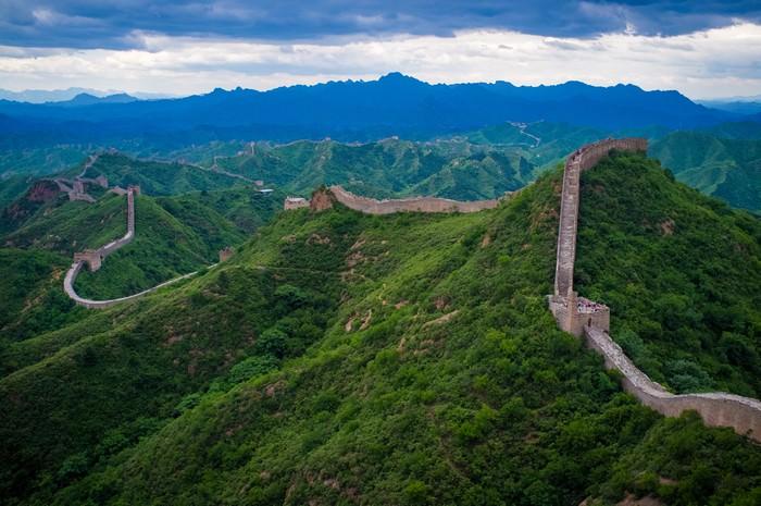 La estructura artificial más grande: la Gran Muralla China
